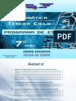 Programa de Estudio 7º Informatica