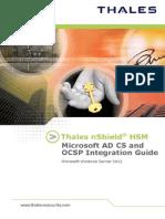 NShield Microsoft ADCS and OCSP Windows Server 2012 Ig