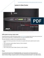 Electrical-Engineering-portal.com-Sizing a Static UPS System in Data Center