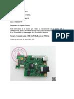 Informe de Soporte Técnico Impresora