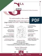 Gaceta FCE Paz y Contemp