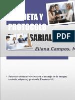 Etiqueta y Protocolo Empresarial 2014