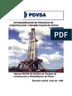 Manual de Tiempos de Construccion y Mantenimiento de Pozos 1.1