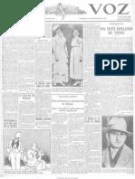 La Voz (Madrid). 5-3-1929