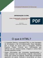 Introdução à HTML
