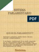 Sistema Parlamentario-Trabajo de Exposicion