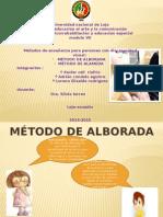 Metodos de Enseñanza Braille Alborada y Alameda