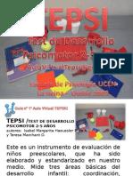 TEPSI - Test de Desarrollo Psicomotor 2-5 años