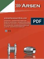 Kompansatorler Katalog Arsenflex