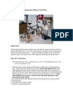 Bicycle Generator Stand Directions (5!10!2014)