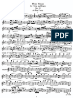 Arthur Foote - Three Pieces for Flute and Piano Op. 31