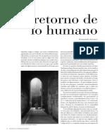 El Retorno de Lo Humano
