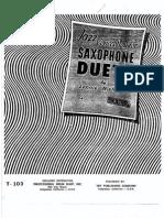 Niehaus, Lennie - Jazz Conception for Saxophone Duets