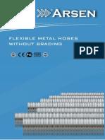 Metal Hose Without Braiding Catalogue Arsenflex