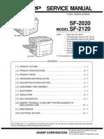 SHARP SF2120_SERVICE MANUAL.pdf