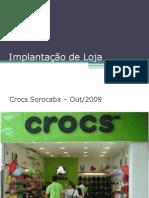 Implantação física e operacional de loja