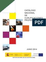 Catalogo Nacional Cualificaciones Profesionales