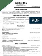 Willky Resume 1