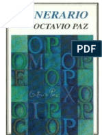 Octavio Paz_Itinerario