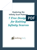 7 Infinity Scarf Knitting Patterns