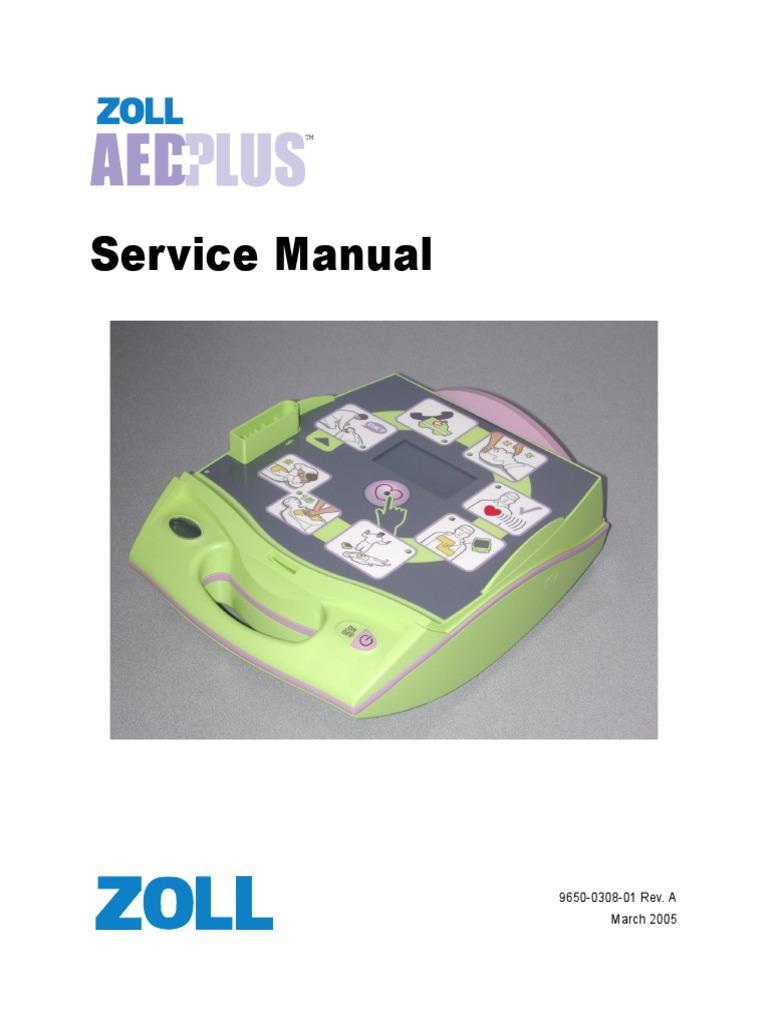 zoll aed service manual cardiopulmonary resuscitation rh scribd com zoll x series service manual zoll aed plus service manual