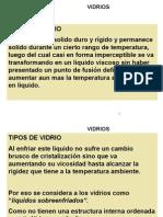 MATERIALES DE CONSTRUCCION VIDRIO
