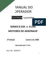 Manual Operacão Lycoming O-290