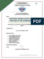 ESTUDIO HIDROLOGICO RIO SHULLCAS