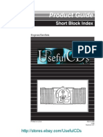 Product Guide Short Block Index - Engines_GenSets - 932-0109B