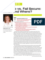 Decoded Aug12 Fail Safe vs. Fail Secure