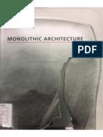 Monolithic Architecture