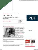 13 frases célebres de Vicente Aleixandre.pdf