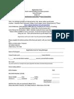 Tanny Registration 2015