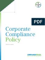 Corporate Compliance Es