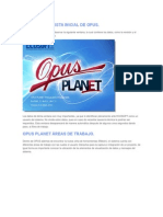 Manual de Opus planet