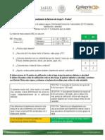 Cuestionario de factores de riesgo 5 - 19 años