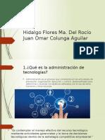 Administración de tecnologías - Unidad I