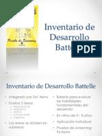 Inventario de Desarrollo Battelle