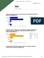 Encuesta de Satisfacción de Logística - Resultados 2014