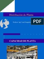 Disposición de Planta - Semana 2 y 3
