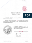 DOA Articles of Incorporation