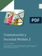 Comunicación y Sociedad, módulo 2