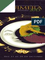 Programa Quimera 2013