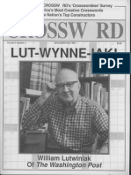 """And the Wynner Is . . . William Lutwiniak,"" by Helene Hovanec"