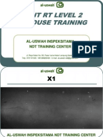 Al-uswah ASNT RT Level 2 in-House Training
