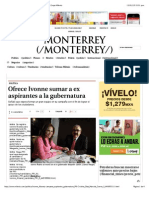 23-01-15 Ofrece Ivonne Sumar a Ex Aspirantes a La Gubernatura - Grupo Milenio