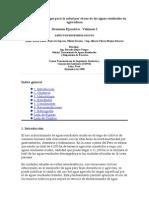 Evaluación de riesgos para la salud por el uso de las aguas residuales en agricultura.doc