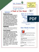 News 2010 3rd 9 Weeks Jan 19th-29th MLK Week