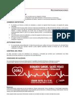 Recomendaciones Cardiovasculares