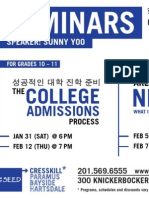 2015 Winter Seminars Cresskill